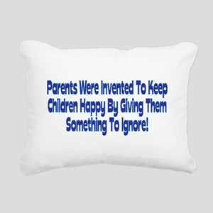 Parents Were Invented Rectangular Canvas Pillow