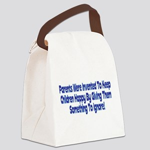 Parents Were Invented Canvas Lunch Bag