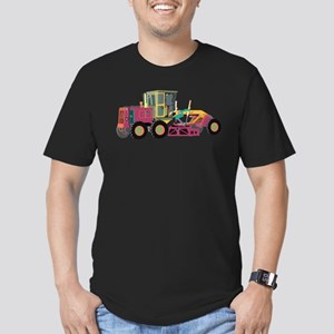 Technicolor Cat Men's Fitted T-Shirt (dark)