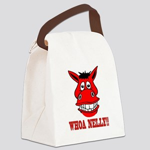 Horse Says Whoa Nelly Canvas Lunch Bag
