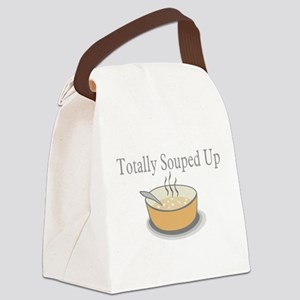 Totally Souped Up Canvas Lunch Bag
