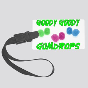 Goody Gumdrops Large Luggage Tag