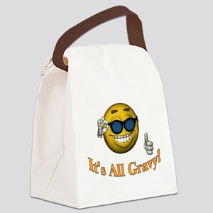 All Gravy Canvas Lunch Bag