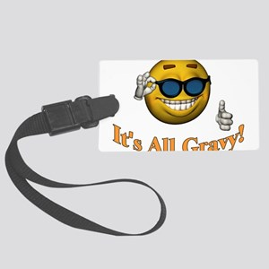All Gravy Large Luggage Tag