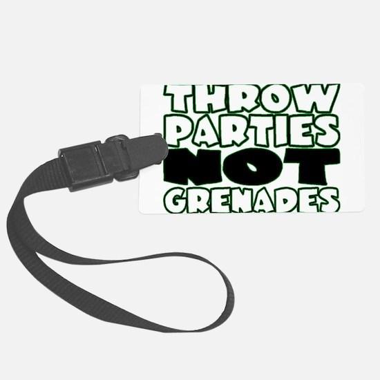 Throw Parties Luggage Tag