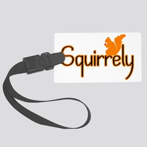 Squirrely Large Luggage Tag