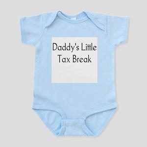 Daddy's Little Tax Break Infant Creeper