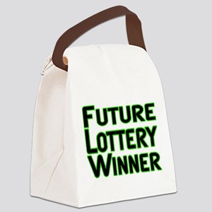 Future Lottery Winner Canvas Lunch Bag