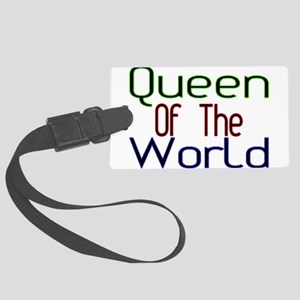 Queen Large Luggage Tag