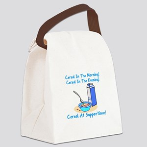 Cereal All The Time Canvas Lunch Bag