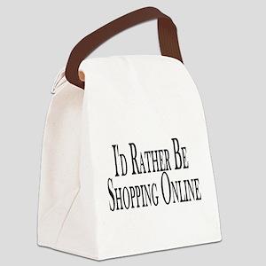 Rather Shop Online Canvas Lunch Bag