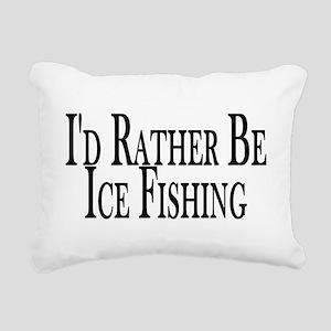 Rather Ice Fish Rectangular Canvas Pillow