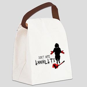 Annihilate Canvas Lunch Bag