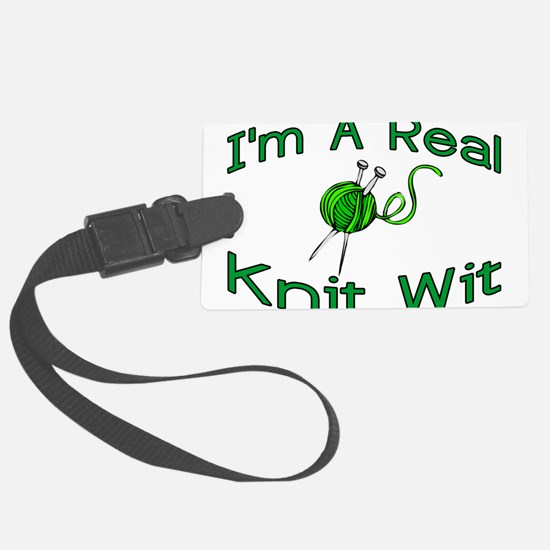Knit Wit Luggage Tag