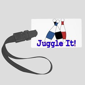 Juggle It Large Luggage Tag