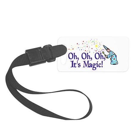 It's Magic Small Luggage Tag