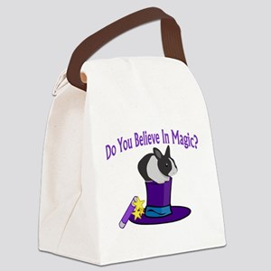 Believe In Magic Canvas Lunch Bag