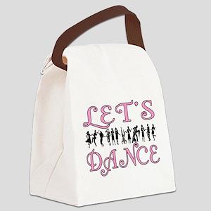 Let's Dance Canvas Lunch Bag