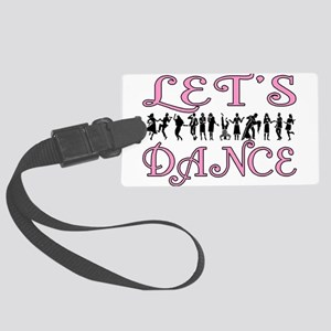 Let's Dance Large Luggage Tag