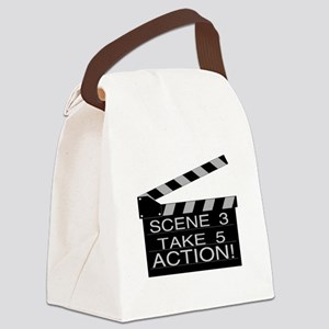 Action Canvas Lunch Bag
