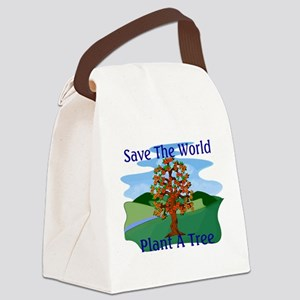 Plant A Tree Canvas Lunch Bag