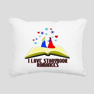 Storybook Romances Rectangular Canvas Pillow