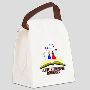 Storybook Romances Canvas Lunch Bag