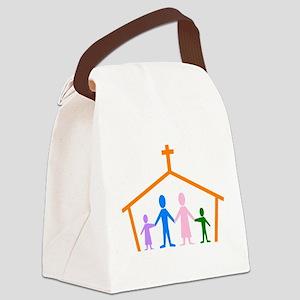 House Of Faith Canvas Lunch Bag