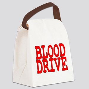 Blood Drive Canvas Lunch Bag