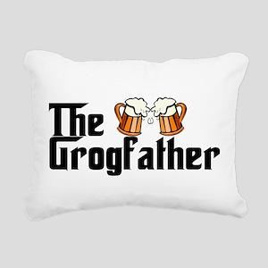 The Grogfather Rectangular Canvas Pillow