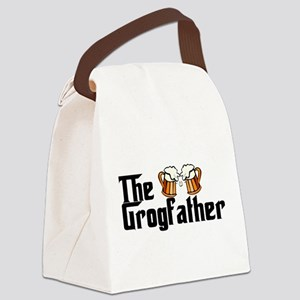 The Grogfather Canvas Lunch Bag
