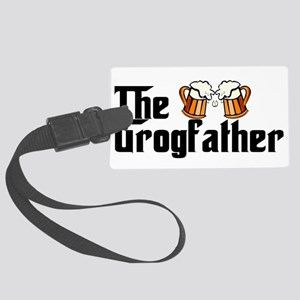 The Grogfather Large Luggage Tag