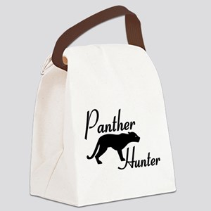 Panther Hunter Canvas Lunch Bag