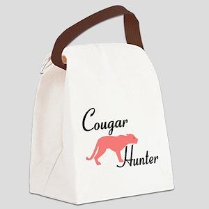Cougar Hunter Canvas Lunch Bag