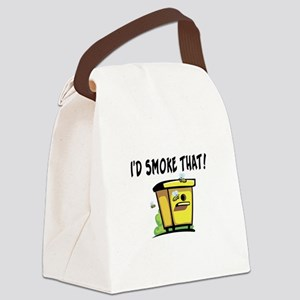 I'd Smoke That Bee Hive Canvas Lunch Bag
