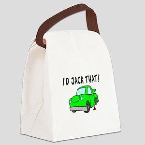 I'd Jack That Canvas Lunch Bag