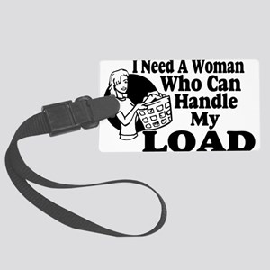 Handle My Load Large Luggage Tag