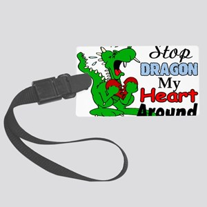 Dragon My Heart Large Luggage Tag