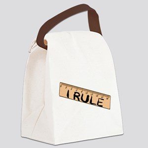 I Rule Canvas Lunch Bag