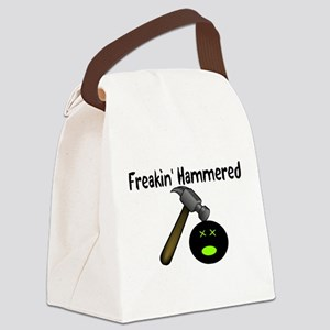 Freakin Hammered Canvas Lunch Bag