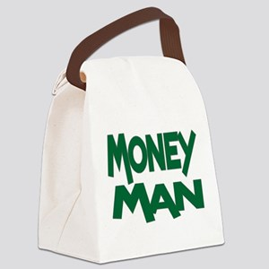 Money Man Canvas Lunch Bag