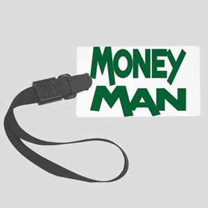 Money Man Large Luggage Tag