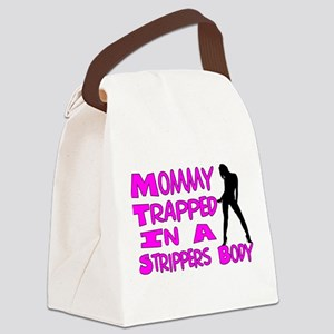 Mommy Trapped Canvas Lunch Bag