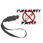 Puff Puff Pass Large Luggage Tag
