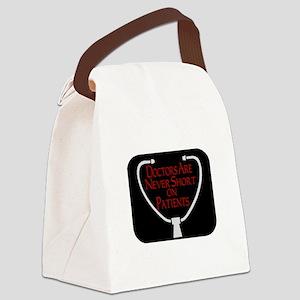 Doctors Patients Canvas Lunch Bag
