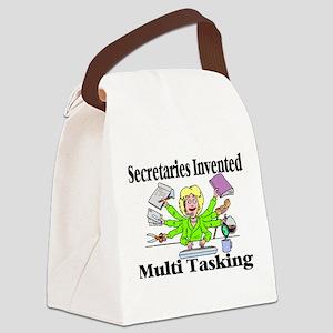 Secretaries Multi Task Canvas Lunch Bag