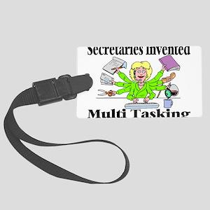 Secretaries Multi Task Large Luggage Tag