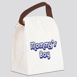 Mommy's Boy Canvas Lunch Bag