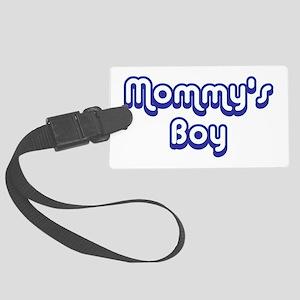 Mommy's Boy Large Luggage Tag