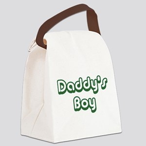 Daddy's Boy Canvas Lunch Bag
